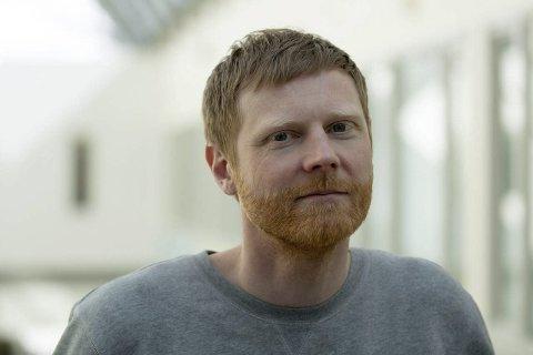 Designleder: Tony Jøsendal fra Odda er designleder i NRK TV, og får mye av æren for prisen de nå har blitt tildelt.foto: Privat