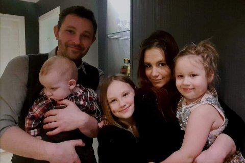 Vincent Claeson er forlovet med Nathalie Lervik. Sammen har de stiftet familie i Odda.