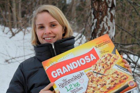 Grandiosa: Ingrid Rønneberg Næss frå Lofthus, då Stabburet i 2011 lanserte «Vår hjemmelagde».