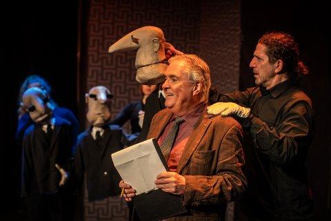 """Yngve Seterås og Jan Holden er kunstneriske ledere for dramatiseringen av """"Hull & Sønn""""."""