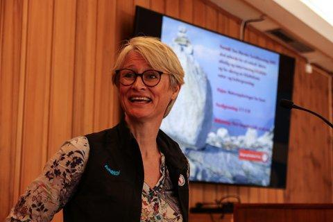 Helene Ødven i Den Norske Turistforening (DNT) forteller at arbeidet med å ruste opp Stavali turisthytte går i gang i år.