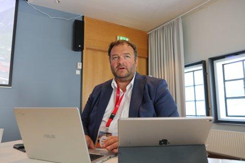 I MØTE: Ordfører Roald Aga Haug opplyser at kommunen torsdag ettermiddag skal i møte med FHI.