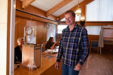 Rune Limstrand er vara for Høgre i Eidfjord og var aldri i tvil om kva parti som skulle få hans røyst på valdagen. Etter oppteljing viste resultatet ein tilbakegang for Høgre blant  innbyggjarane i Eidfjord  sidan sist stortingsval.