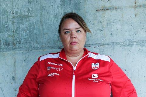Dagleg leiar i Odda Fotballklubb Guro Svenkerud Fresvik