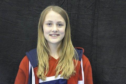 Caroline Clausen (14) – Egentlig på ganske mye forskjellig. Musikken jeg hører mest på er korsanger, og generelt sanger med gode budskap.