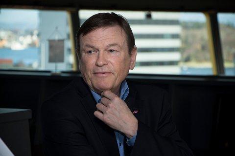 CEO: Administrerende direktør Jan Fredrik Meling ser lysere på framtiden enn for ett år siden. - Vi ser at ting beveger seg i rett retning, sier han. Snart får han en ny styreleder å forholde seg til.