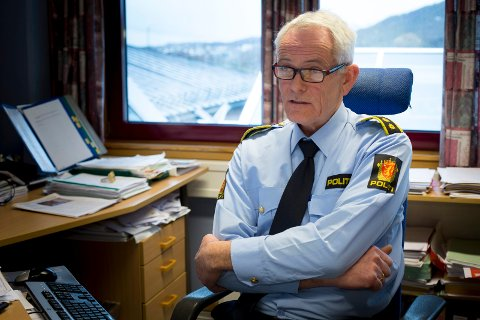 FØRSTERESPONS: Racin Tjøsvoll er i dag lensmann i Tysvær. I 1995 var han i patruljen som kom først til drapsstedet på Gamle Sundveg.  Arkivfoto: Terje Størksen
