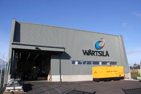 SELGES: Wärtsilä sitt nye testsenter på Heiane på Stord.