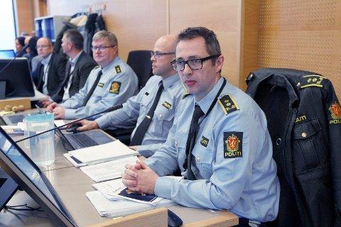 Aktor, politiadvokat Hallvard Gardshol Bjørndal. Foto: Harald Nordbakken