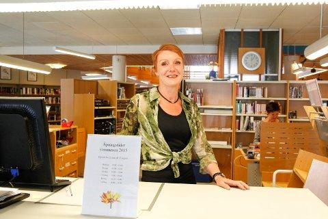-Å få en pris er veldig hyggelig. VI har hatt rekordbesøk på biblioteket i fjor, sier biblioteksjef Marianne Hirzel ved Haugesund folkebibliotek.