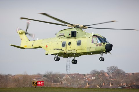 Norge har tegnet kontrakt på 16 nye redningshelikoptre av typen AW101-612, med opsjon på ytterligere 6.