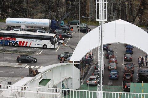 SANDVIKVÅG: Fjord 1 melder om tekniske problemer i dag.