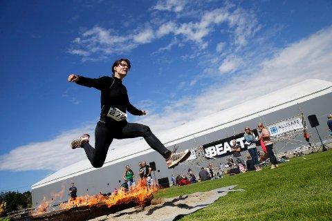 TEMMET BEISTET: Helen Thorsen var en av rundt 900 deltakere som stilte på startstreken i årets The Beast, som ble arrangert for en måned siden.