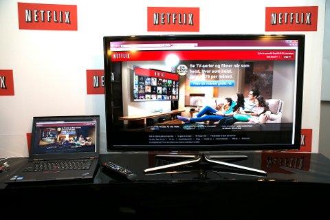 Netflix-merkevaren blir misbrukt av svindlere i en ny epsot. Foto: Gorm Kallestad / NTB scanpix.