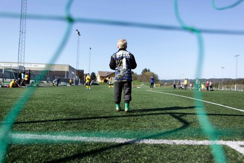 Aktivitet i Haugesund idrettspark. Arkivfoto: Grethe Nygaard