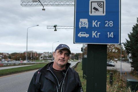 Haugesund 231017: Svein Erik Indbjo (Frp) bompenger, Haugalandspakken. Foto: Terje Størksen