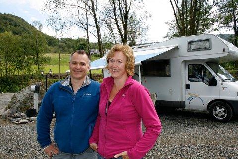 Sommeren 2009 åpnet  Oddvar og Marianne Opstvedt bobilparkering hjemme på gården i Ølen.