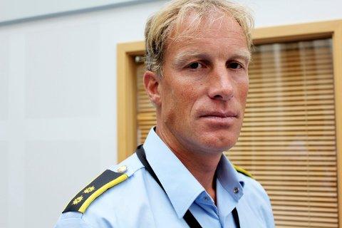 ANMELDT: Midlertidig politikontakt i Tysvær,Bjørn Inge Espeland, forteller at de fikk varsel om mulig brudd på smittevernloven på mandag.