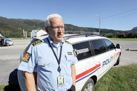 FORTSETTER TIRSDAG: Lensmann i Etne / Vindafjord  Ingvar Gjærde forteller at leteaksjonen etter Christian Kvamme (28) fortsetter med utvidet søk tirsdag.