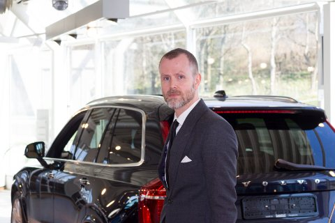 GÅR GODT: Laastad & Co har hatt et godt 2020 og daglig leder Haakon Laastad peker på flere ting som har slått bra an.