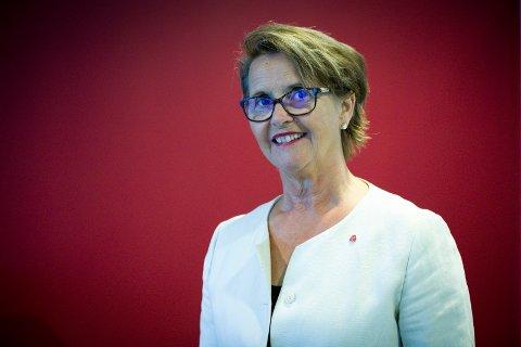 NESTE ÅRS BUDSJETT: Ordfører i Sveio Jorunn Skåden er fornøyd med budsjettet som ble lagt mandag kveld.