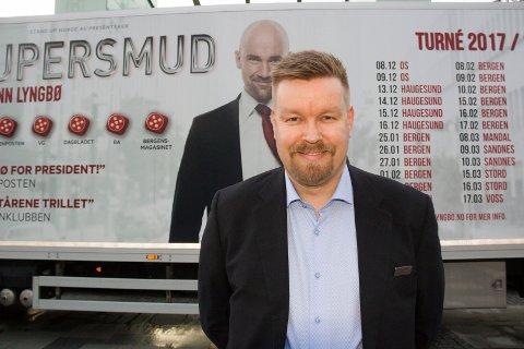 LYSTIGE TIDER: Fredrik Meyer Vangsnes, som teknisk sjef ved Scandic Maritim i 2017.