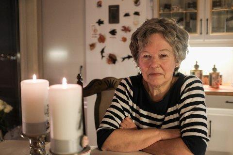 GIR ROS: Margunn Tveit roser hjemmetjenesten på Torvastad Nord-Karmøy.