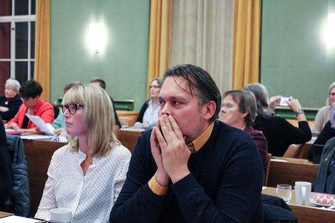 VIL VÆRE MED VIDERE: De to nåværende bystyrerepresentantene Tor Inge Fredriksen og Hege Østensjø ønsker å bli med videre i politikken. Fredriksen er forhåndskumulert, mens Østensjø står på en av de prioriterte plassene.