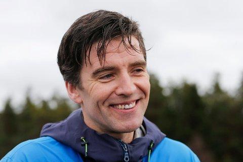 EN AV ARRANGØRENE: Jan Erik Søvig fra Hårfagrerittet.