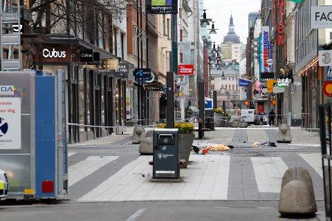 Nordmenn er blitt mer redde for å reise utenlands etter terrorangrepet i sentrum av Stockholm fredag 7. april. Foto: Torstein Bøe / NTB scanpix