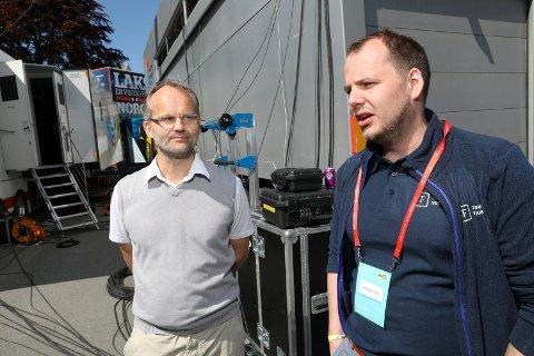 Øyvind Meistad og Erik Skaara står bak selskapet Rayvn AS.