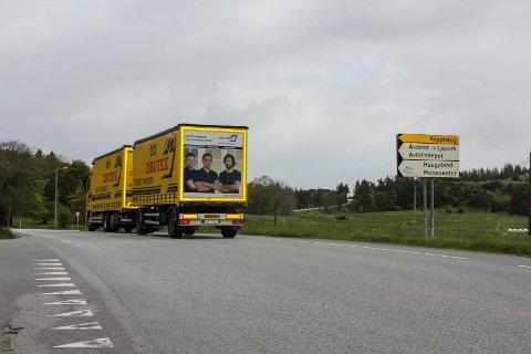 I SØR: Et enstemmig samferdselsutvalg mener det er mest fornuftig å starte på Fagerheim-Ekrene i sør. Altså mellom Fagerheim og Førland.