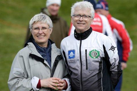 GLEDER SEG TIL NM: Borghild Hervik Hansen (t.v.) skal lede hovedkomiteen for NM i 2020. Ivar Kvale er en av flere løypeleggere.