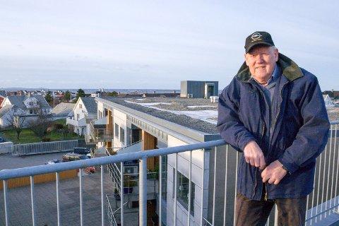 DØD: Åkrabu John Knutsen gikk bort 10. september. 80 år gammel.