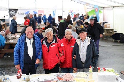 VETERANER: Odd Magne Lilleaas (f.v.), Gunn Frøydis Ørjansen, Gerd Valentinsen og Sivert Nilsen har vært med siden starten i 1996.