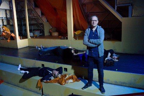 """JESUS-MUSIKAL: - Vi har forhåndssolgt 4.000 billetter. """"Jesus Christ Superstar"""" blir en storslagen oppsetning, sier regissør og teatersjef Erik Schøyen i Haugesund Teater."""