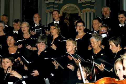BREMNES KANTORI:  Konsertmessen «LIV» framføres lørdag i Bømlo kyrkje.
