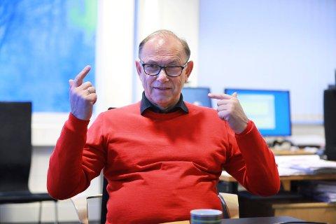 TEKNOLOGI: Geir Egil Østebøvik er CEO i Imenco AS, som jobber primært med olje og gass. Søsterselskapet ICT jobber i hovedsak med offshore vind.
