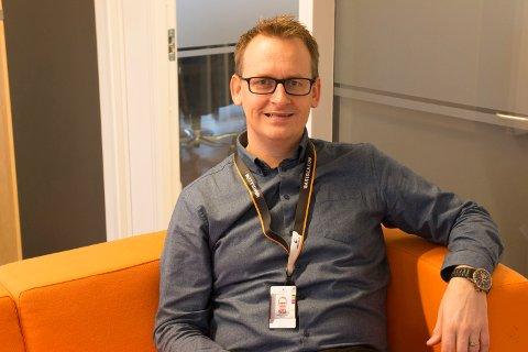 FORNØYD: – En flott anerkjennelse av vårt arbeid i Norge og internasjonalt, sier direktør Hans-Petter Nesse i Wärtsilä Norway.