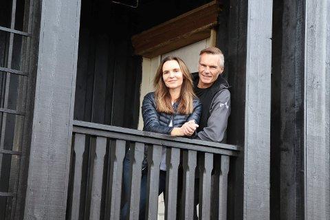 Anita Vikse Westerlund og Erik Westerlund ville tilbake til Haugesund.