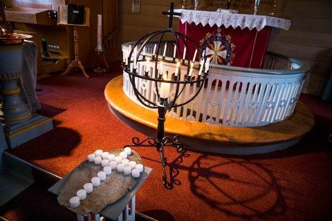 MØTEPLASS: Den omkomne og den savnede er begge fra Bokn. Kirken og Bokn Arena er hele søndag åpen for alle med behov for å komme dit i sorgen.