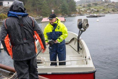 Svein Ove Alvestad deltar i søket, og basen for aksjonen blir på hans eiendom mandag.