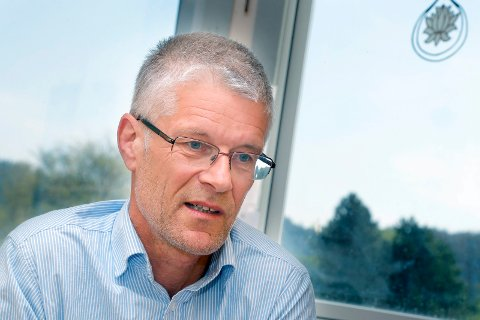 Lokallagsleder Tom Landås drar sammen med fire medlemmer i Haugesund KrF til det ekstraordinære landsmøtet i Rogaland KrF.