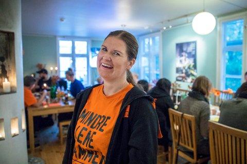NY LEDER: Helene Skeie Østhus tar over for Arne Valen i Kirkens Bymisjon avdeling Haugalandet.