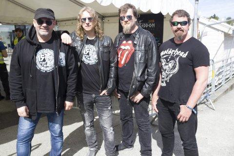 HØVLERIET:  Sabbath In Black fra Kopervik blir det lokale innslaget under helgens Haugalandet Prog og Rock festival.