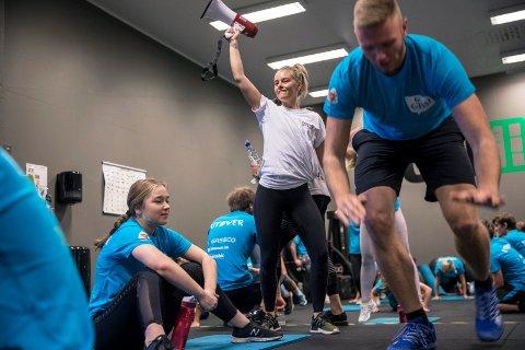 IKKE MER:  Instruktør Lotte Anfinsen Haaland ved Haugesund aerobic og treningssenter avslutter samarbeidet med CrossFit.