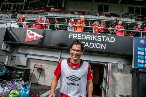 ANGRER IKKE: ... men Eirik Mæland håper det blir opprykk på Fredrikstad.