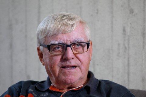 FORNØYD: John Rullestad er styreleder for SILK-festivalen denne helgen og er fornøyd så langt.