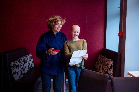FÅR SYNGE DUETT: Kreftsyke Elisabeth Møinichen Kvinnsland har vunnet en audition og får synge duett med Sissel Kyrkjebø i Stavanger konserthus lørdag 9. desember.