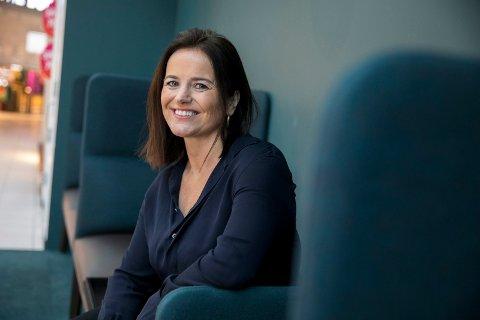 Senterleder på Amanda Storsenter, Ann Elin Marthinussen, er ikke den største tilhengeren av nyttårsforsetter.